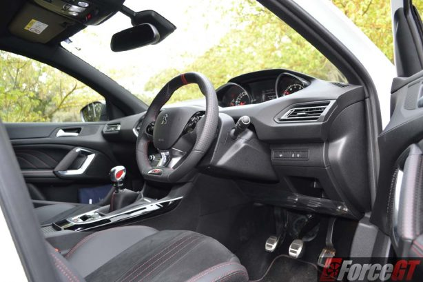 forcegt 2016 peugeot 308 gti 250 interior