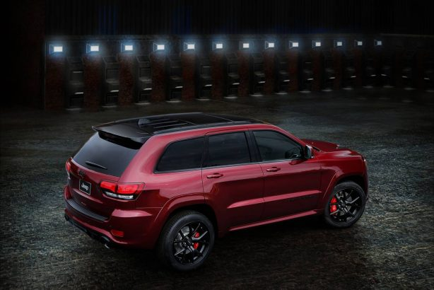 forcegt jeep grand cherokee srt night rear quarter