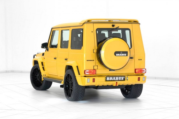 mercedes brabus g63 widestar g700 rear quarter