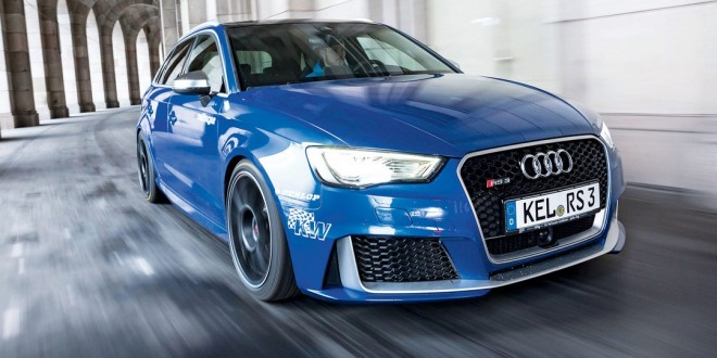 Oettinger unleashes 382kW Audi RS3 super hatch