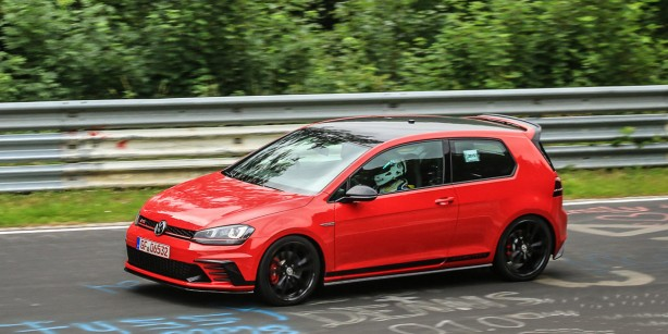 volkswagen golf gti clubsport s side-1