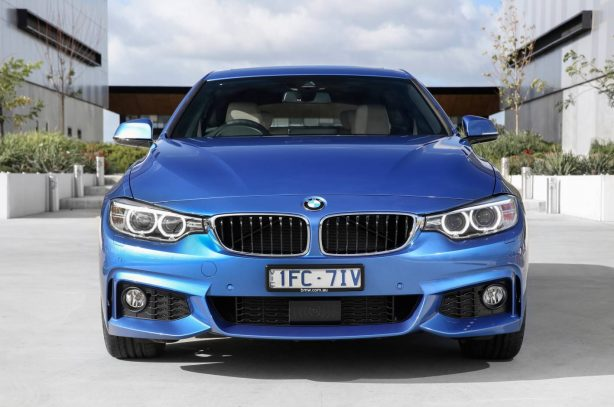 2016 bmw 430i gran coupe front