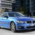 2016 bmw 430i gran coupe front quarter