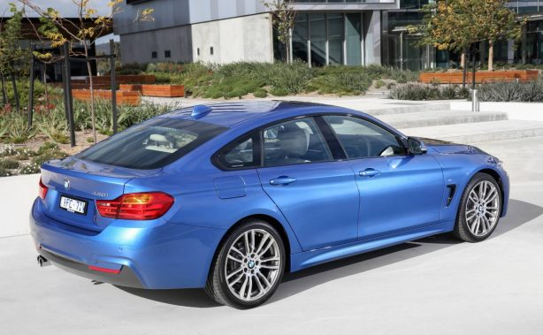 2016 bmw 430i gran coupe rear quarter