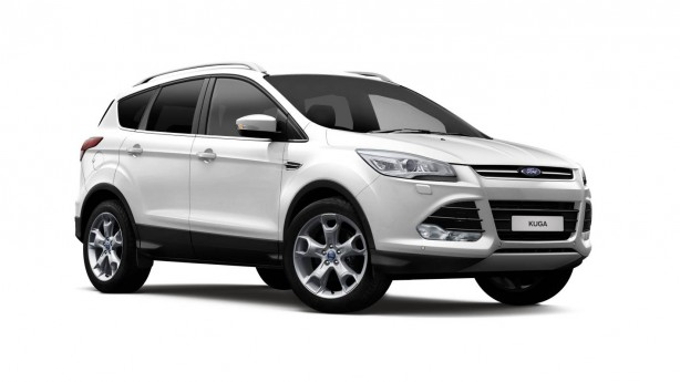 2016 ford kuga ambiente front quarter