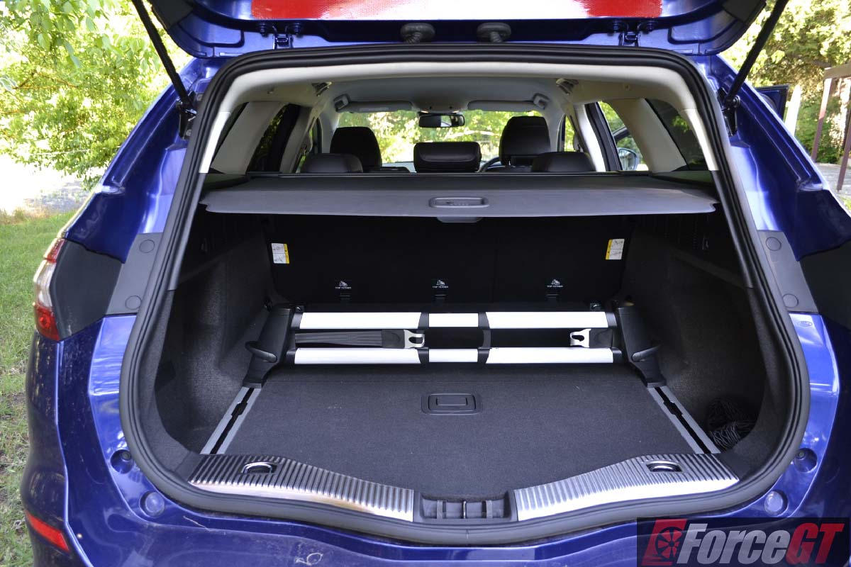 Ford Focus Station Wagon Boot Space