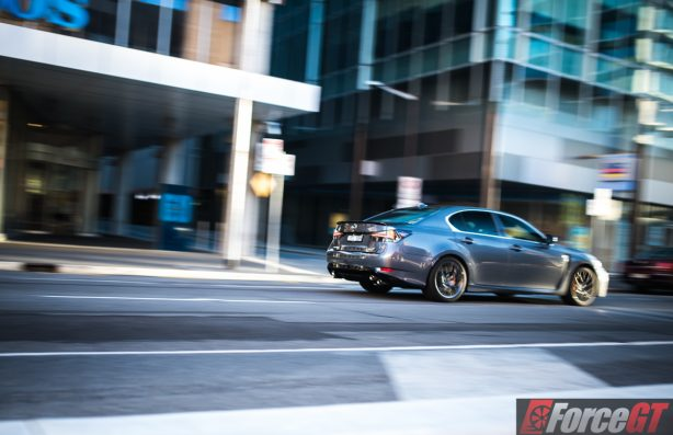 2016 lexus gs f Rolling rear