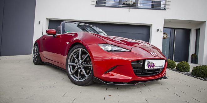 KW introduces Clubsport coilovers for Mazda MX-5