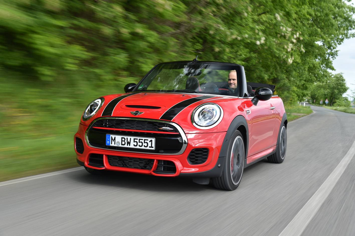 john cooper works variant added to new mini convertible. Black Bedroom Furniture Sets. Home Design Ideas