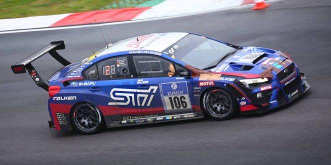 Subaru WRX STI NBR racer wins Nürburgring 24h Race