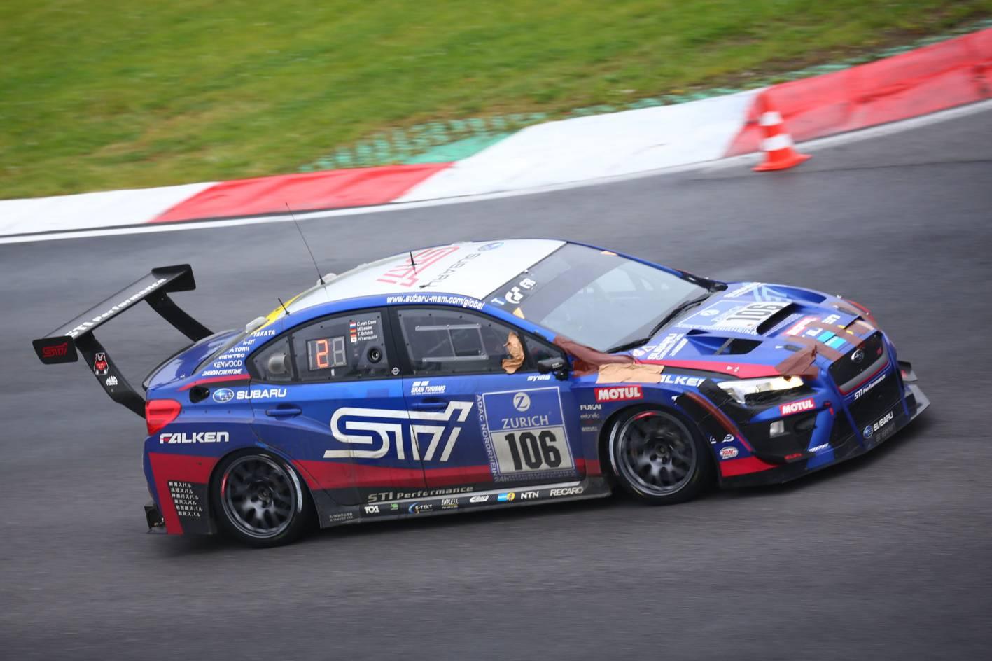 Subaru Wrx Sti Nbr Racer Wins N 252 Rburgring 24h Race