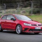2016 volkswagen golf gti clubsport s red front quarter