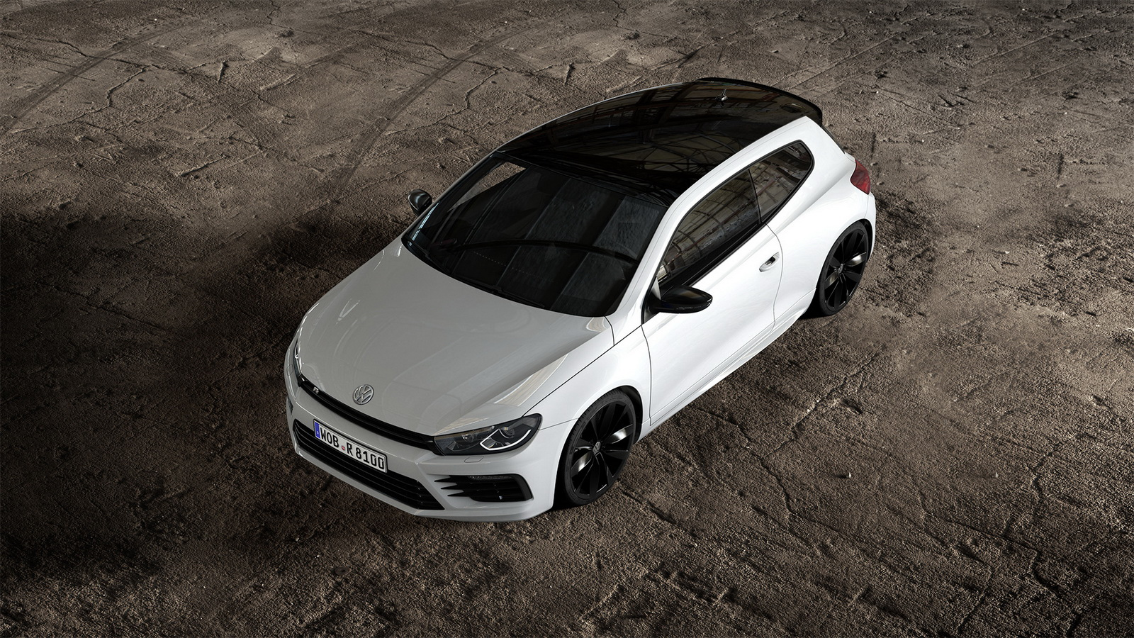 volkswagen freshens up 2016 scirocco r with black style. Black Bedroom Furniture Sets. Home Design Ideas
