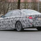 2017 bmw 5 series spy photo rear quarter