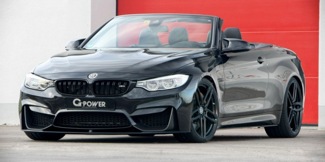 G-Power tweaks BMW M4 convertible