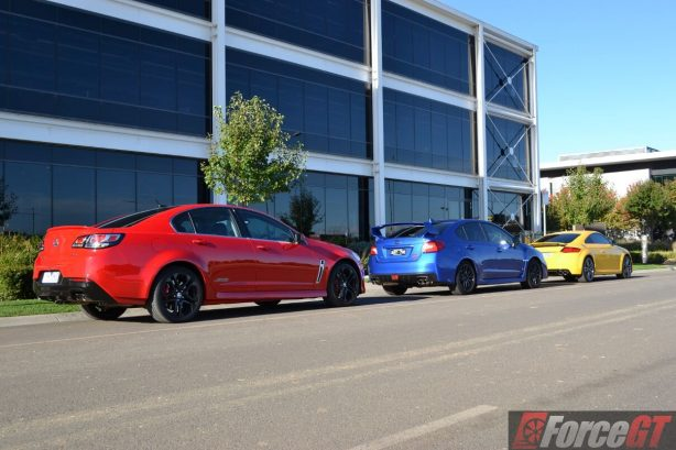 holden-commodore-ssv-subaru-wrx-sti-audi-tts-comparison-9