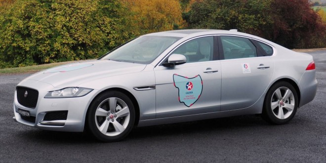 Jaguar XF circumnavigates Tasmania in a single tank of diesel