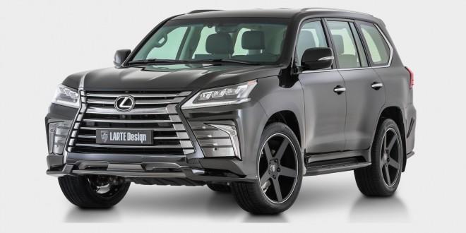 Larte Design unveils Lexus LX body kit