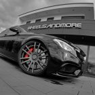 mercedes amg c63 estate tuned by wheelsandmore wheel