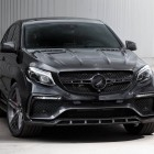 mercedes amg gle 63 coupe with topcar inferno kit front
