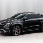 mercedes amg gle 63 coupe with topcar inferno kit front quarter-1