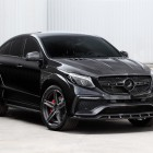 mercedes amg gle 63 coupe with topcar inferno kit front quarter