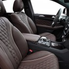 mercedes amg gle 63 coupe with topcar inferno kit front seats