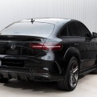 mercedes amg gle 63 coupe with topcar inferno kit rear