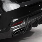 mercedes amg gle 63 coupe with topcar inferno kit rear diffuser