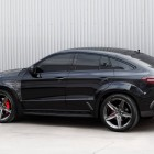 mercedes amg gle 63 coupe with topcar inferno kit rear quarter