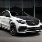 mercedes amg gle coupe with topcar inferno kit front quarter-1