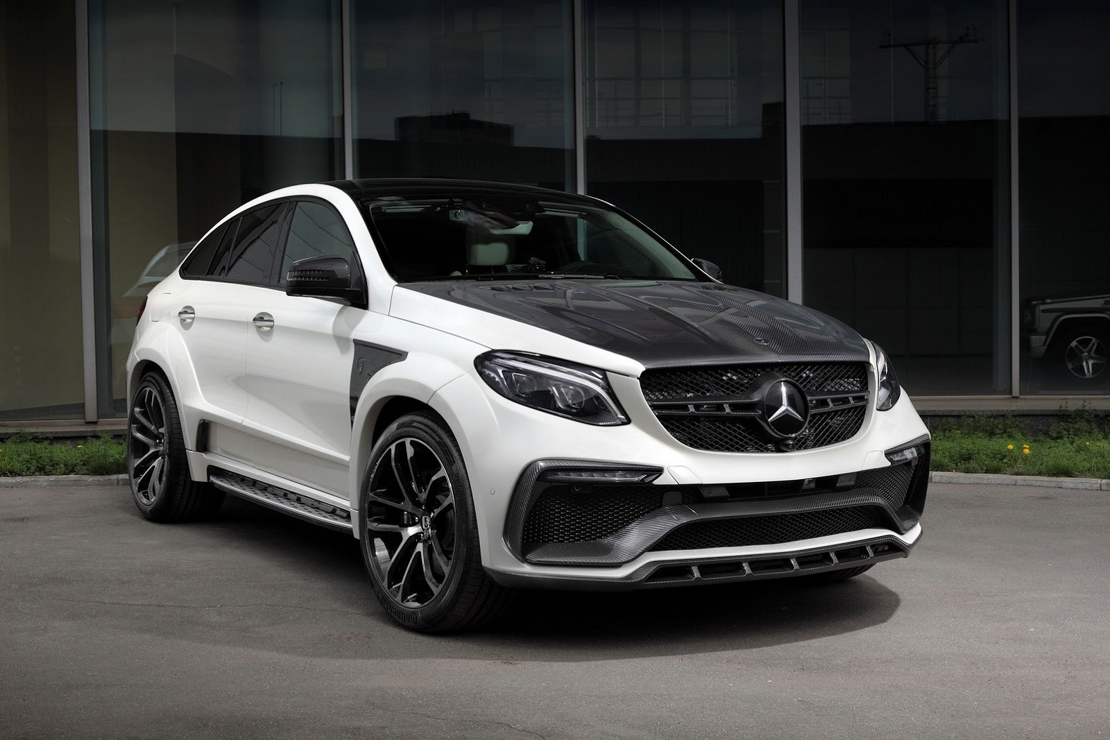 "Mercedes Glc Coupe Tuning >> TopCar unveils ""Inferno"" tuning kit for Mercedes GLE and GLE 63 Coupe"