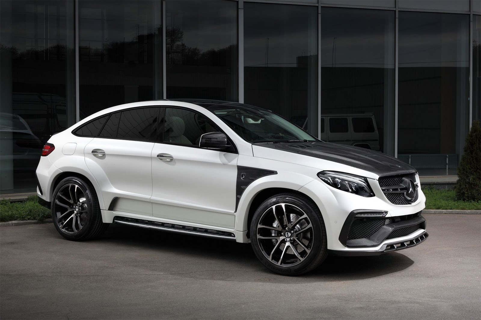 topcar unveils inferno tuning kit for mercedes gle and. Black Bedroom Furniture Sets. Home Design Ideas