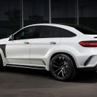 mercedes amg gle coupe with topcar inferno kit rear quarter-1