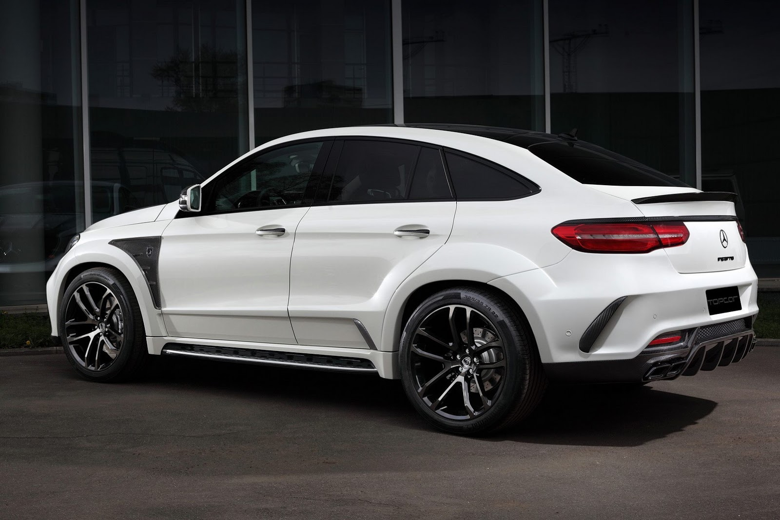 """TopCar unveils """"Inferno"""" tuning kit for Mercedes GLE and ..."""