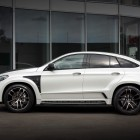 mercedes amg gle coupe with topcar inferno kit side