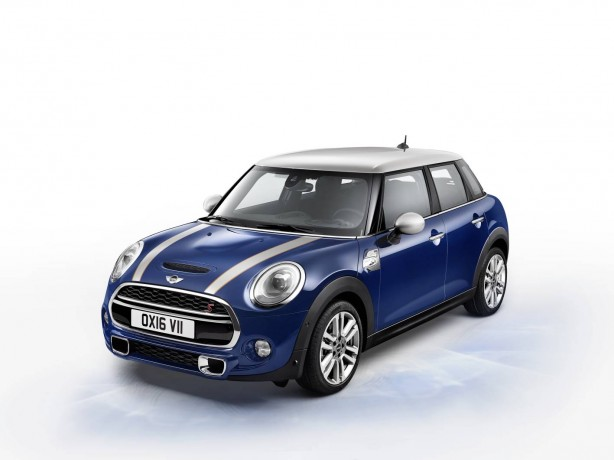 mini seven 5 door front quarter