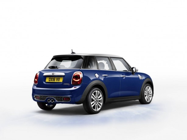 mini seven 5 door rear quarter
