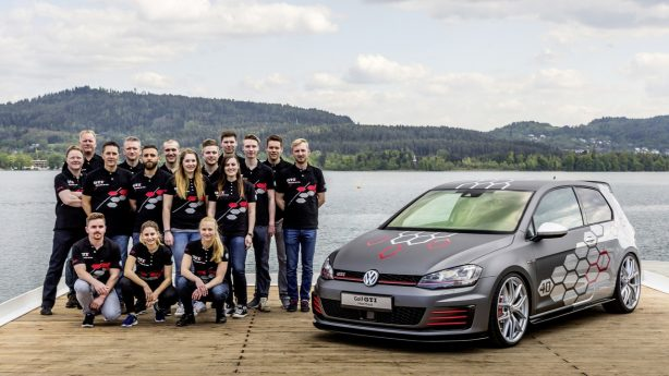 one-off volkswagen golf gti heartbeat