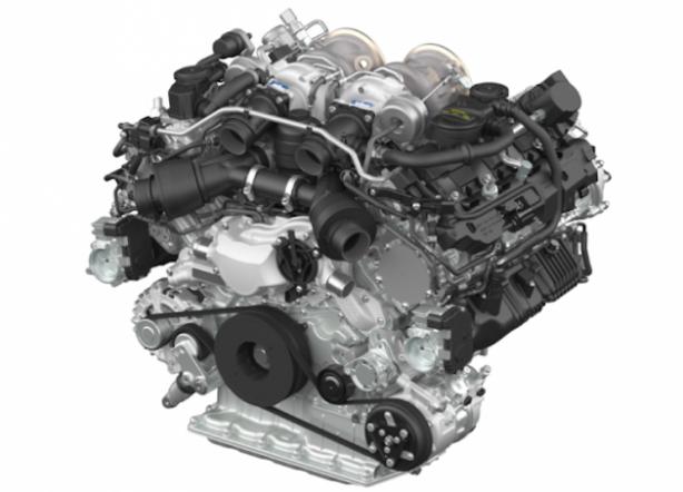 porsche new twin turbo v8 engine