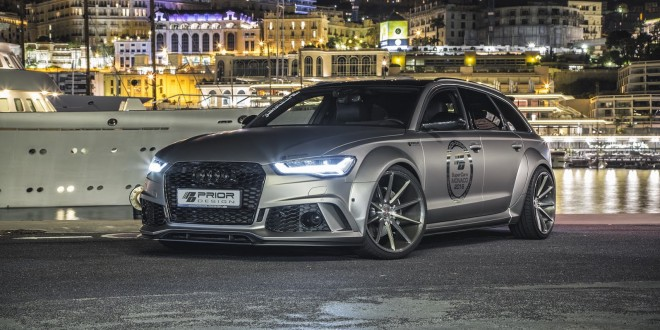 Prior Design pumps up Audi A6 Avant and RS6