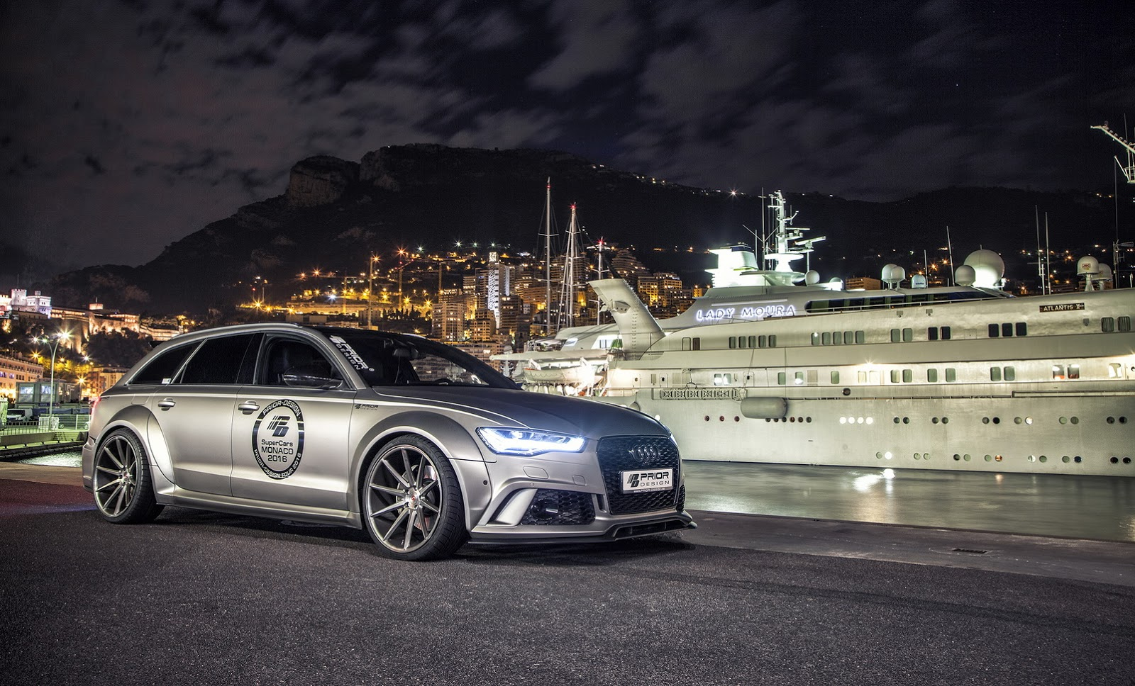 Audi Tuning Prior Design Pumps Up Audi A6 Avant And Rs6