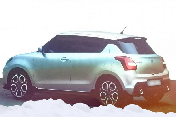 suzuki swift sport leak rear quarter