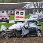 tesla model s crash in germany front quarter-2
