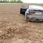 tesla model s crash in germany rear