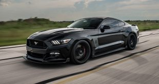 2016-Ford-Mustang-Hennessey-HPE800-25th-Anniversary-front-three-quarter-in-motion