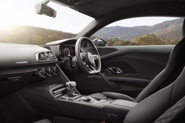 2016 audi r8 v10 coupe interior