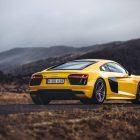 2016 audi r8 v10 coupe rear quarter