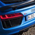 2016 audi r8 v10 plus rear spoiler