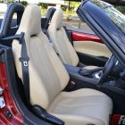 2016 mazda mx-5 roadster front seats